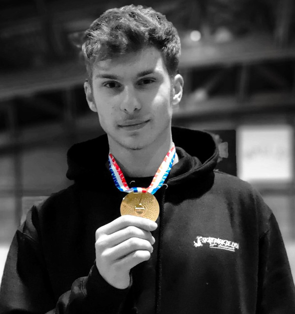 athlete_Homere _Kalampalikis_Champion de France U18_2019